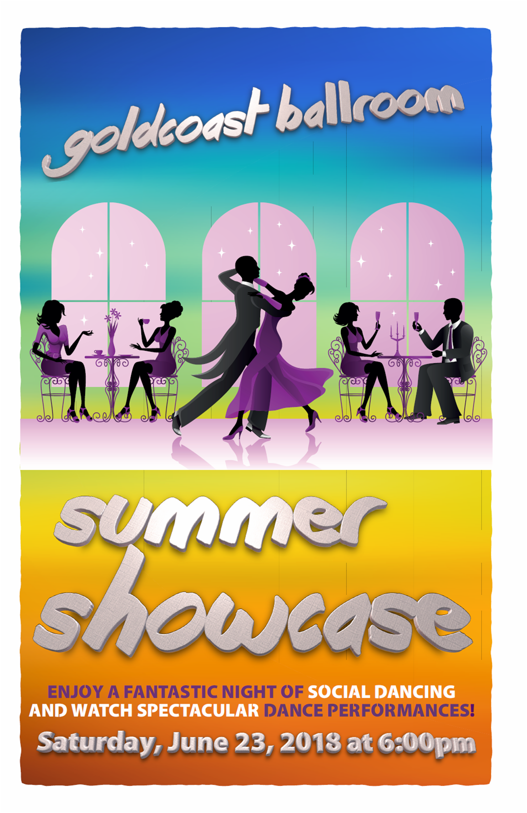 Goldcoast Ballroom Summer Showcase - June 23, 2018!
