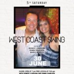 SATURDAY, JUNE 30 – WEST COAST SWING SATURDAY DANCE!! – Hosted by Robert Cordoba & Dawn Sgarlata & Mario Montes!! – at Goldcoast Ballroom – 8:30 PM Dance – Includes Complimentary Lesson (7:30 PM – 8:30 PM – Warm Up Music Starts 7:00 PM)