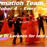 2018 Goldcoast Ballroom Formation Team!! – Class Every Thursday 8:30 PM – 9:30 PM, October 4 through December 13 – Performance December 15, 2018 – Contact Liene Di Lorenzo for Information or to Sign Up
