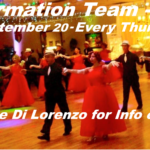 2018 Goldcoast Ballroom Formation Team!! – Class Every Thursday 7:30 PM – 8:30 PM, Starting September 20 – Performance December 15, 2018 – Contact Liene Di Lorenzo for Information or to Sign Up