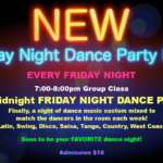 New!! – FRIDAY NIGHT DANCE PARTY MIX!!