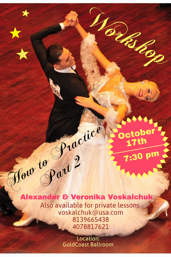 Workshop with Alexander & Veronika Voskalchuk - How to Practice (Part 2) - Wednesday, October 17, 2018