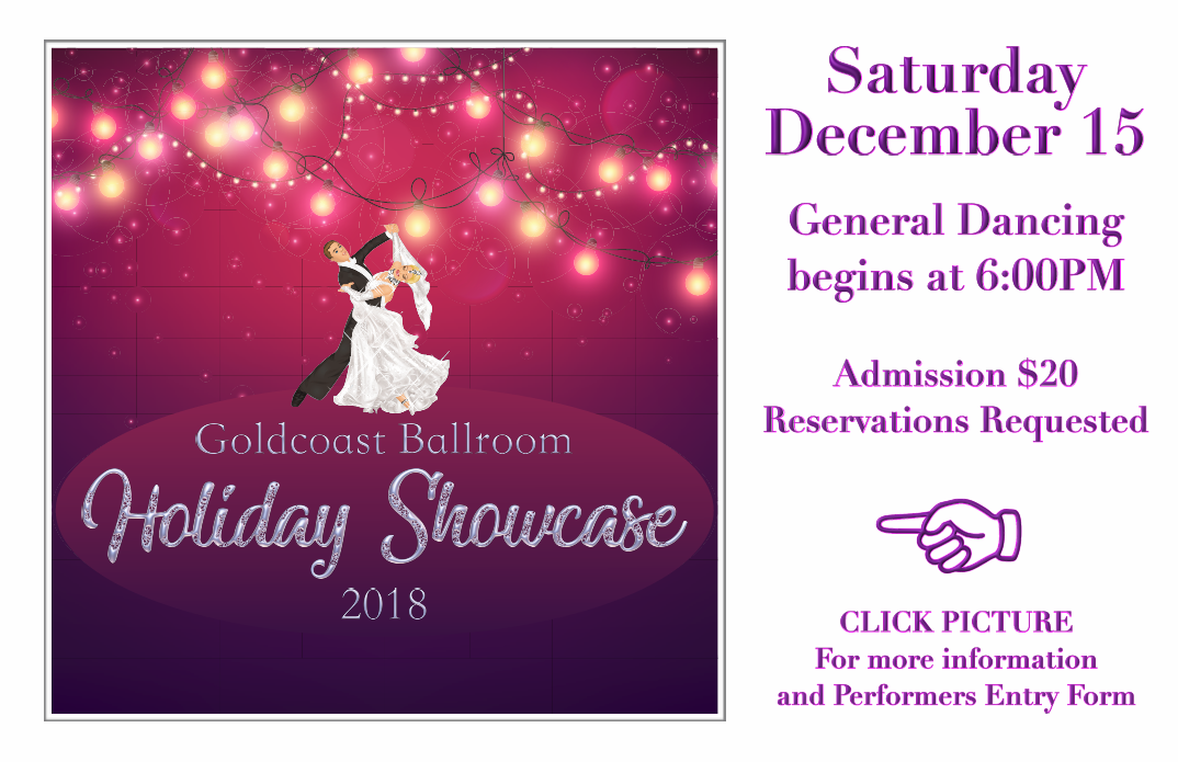 Holiday Showcase - December 15, 2018
