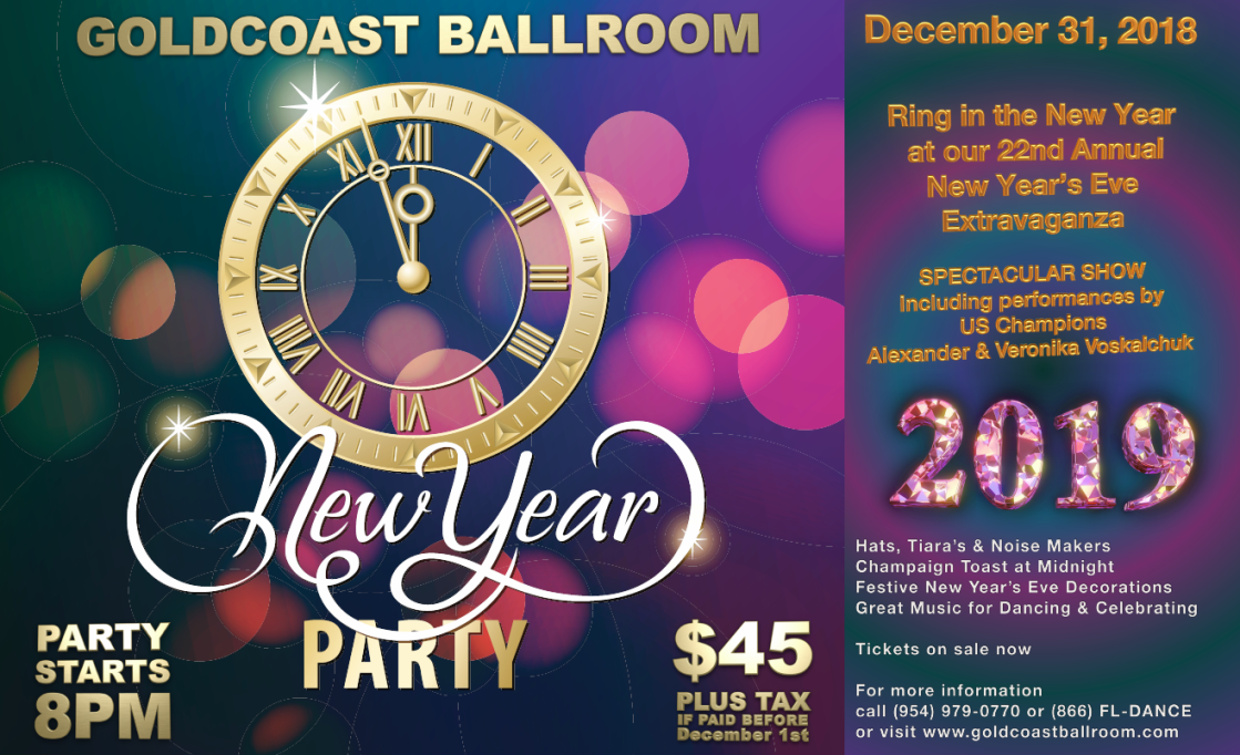 New Year's Eve Party - December 31, 2018