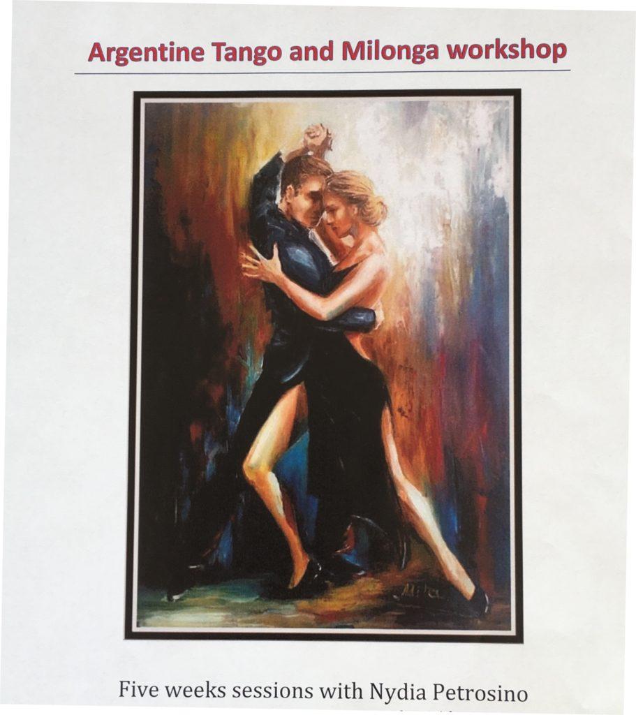 Argentine Tango & Milonga Workshops with Nydia Petrosino - 5 Week Course Ending January 13 & 20