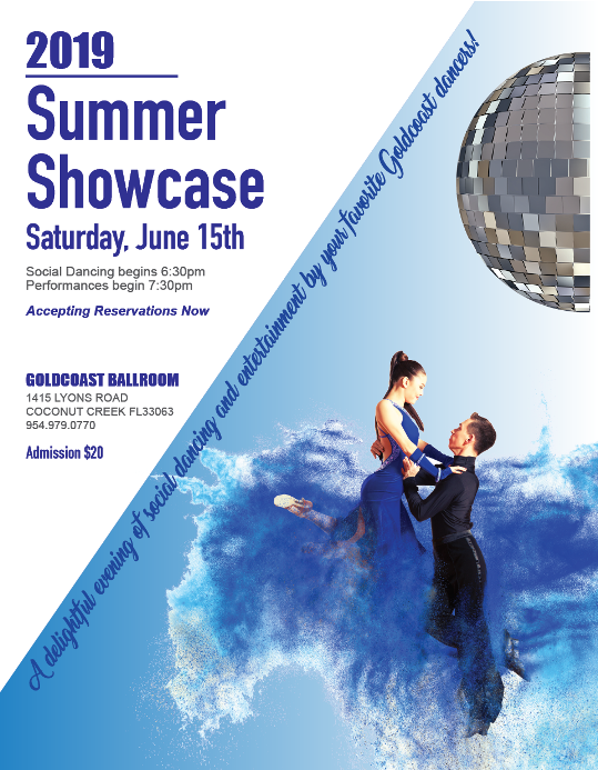 Click to Print 2019 Summer Showcase Flyer