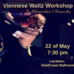 Alexander & Veronika Voskalchuk - Viennese Waltz Workshop - May 22, 2019