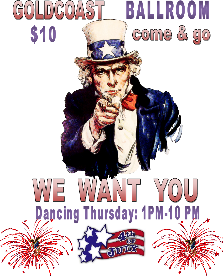 Fourth of July, 2019 - We Want You Dancing!
