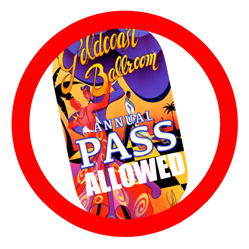 Annual Pass Allowed at this Event
