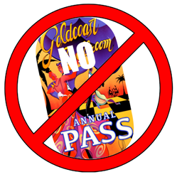 Annual Pass NOT Allowed at this Special Event