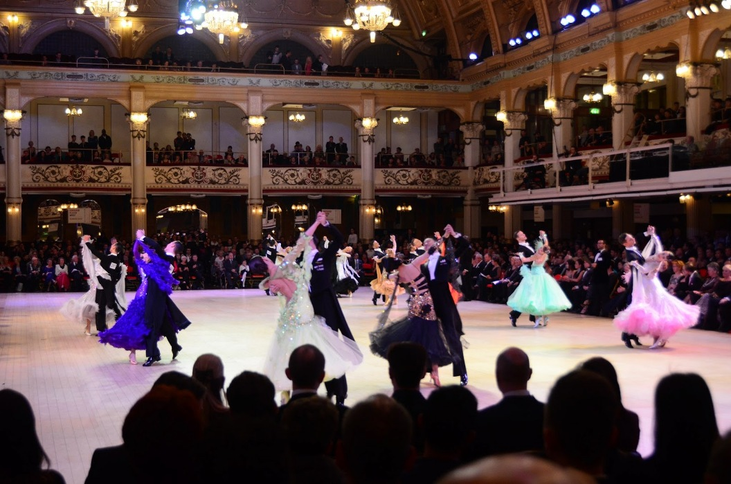 Blackpool Dance Party Night! – Tuesday, August 27 – Wear Dance Competition Attire (for any Style of Dance) – 8:00 PM – 11:00 PM – Mix of Ballroom, Latin & Other Social Dances – $18.00* – COMPLIMENTARY DANCE CLASS (7pm – 8pm) included