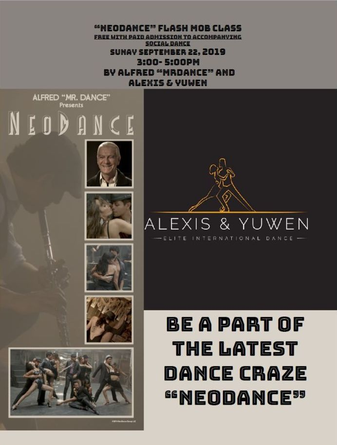 NeoDance with Alfred Mr. Dance - Sunday, September 22, 2019