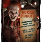 HALLOWEEN PARTY & COSTUME CONTEST!!  – WIN PRIZES!! – Thursday, October 31 – 7:00 PM