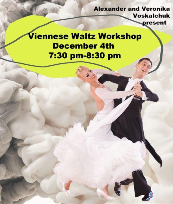 Alexander & Veronika Voskalchuk - Viennese Waltz Workshop - December 4, 2019