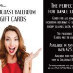 Goldcoast Ballroom Gift Card!