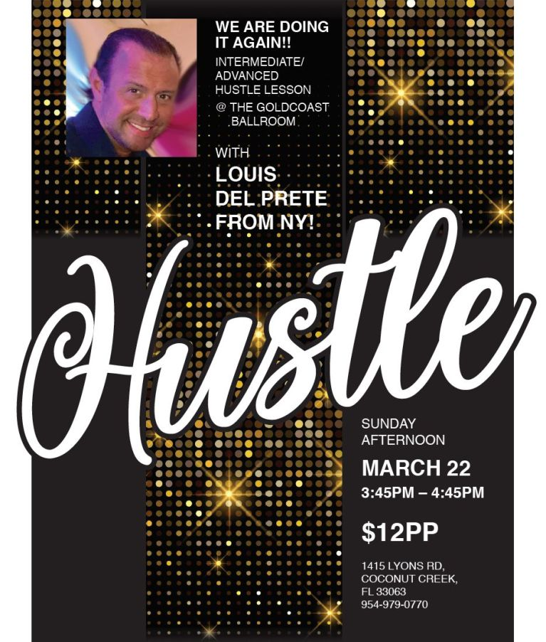 March 22 - Hustle with Louis Del Prete