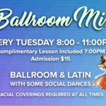Ballroom & Latin Mix Every Tuesday Night – 8:00 PM Dance – 7 PM Class Included – Only $15 for the Evening! – at Goldcoast Ballroom – COVID-19 Restrictions apply per County Orders