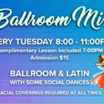 Ballroom & Latin Mix Every Tuesday Night – 8:00 PM Dance – 7 PM Class Included – Only $15 for the Evening! – at Goldcoast Ballroom – REVISED COVID-19 Restrictions apply