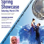 Now Accepting Entries & Reservations!! – Goldcoast Ballroom 2021 SPRING SHOWCASE!! – March 27, 2021 – 6:30 pm Social Dancing begins – 7:30 pm Performances begin – $20 Spectator Admission