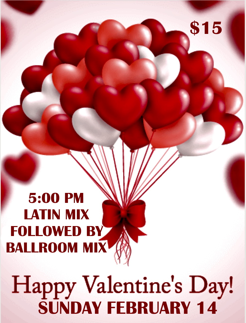 Happy Valentine's Day Party! - Sunday, February 14, 2021 - 5:00 PM - 11:00 PM