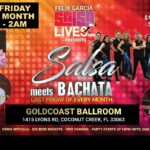SALSA MEETS BACHATA! – Friday, September 3 – FIRST Friday of September – 10PM – 2AM – $15 All Evening – Exciting!
